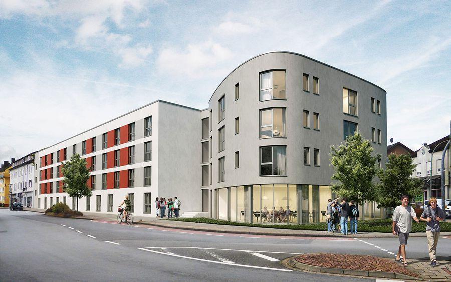 Studentenwohnheim in Holzminden | bauplan GmbH